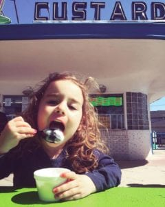 treat the kids to creamy custard after a day of fun at columbian park in lafayette indiana