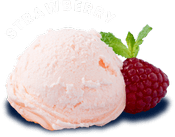 come taste handmade strawberry ice cream from original frozen custard in lafayette indiana