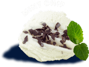 try mint chip flavored ice cream using our original recipe made in lafayette indiana